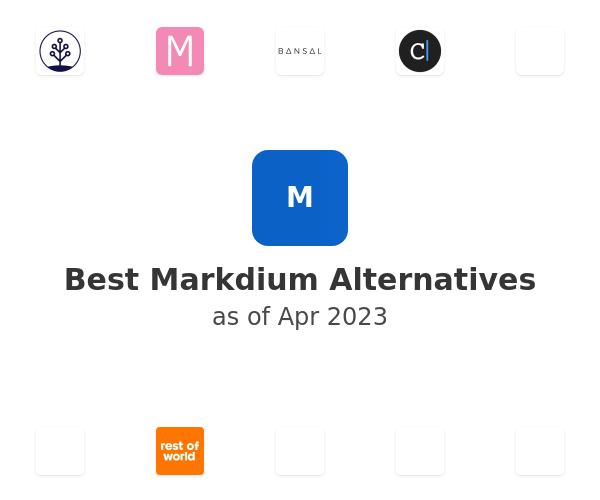 Best Markdium Alternatives