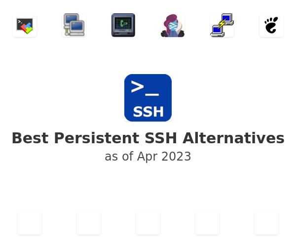 Best Persistent SSH Alternatives
