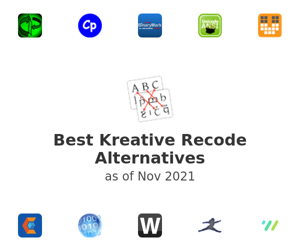 Best Kreative Recode Alternatives