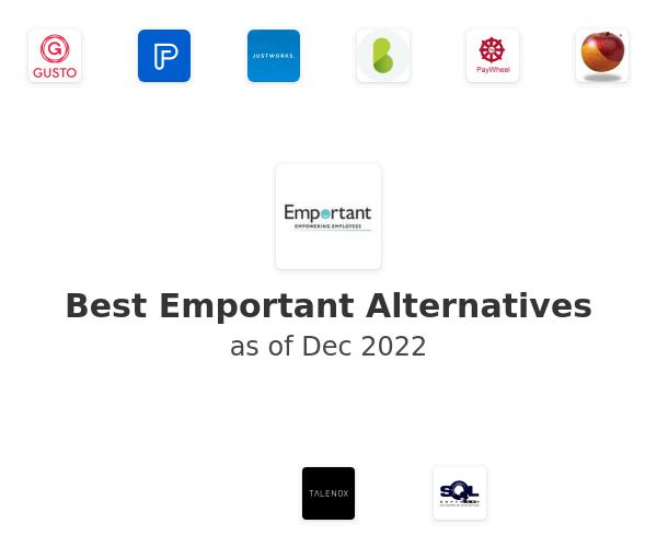 Best Emportant Alternatives