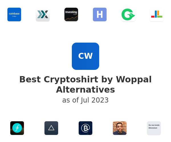 Best Cryptoshirt by Woppal Alternatives