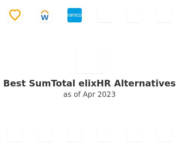 Best SumTotal elixHR Alternatives