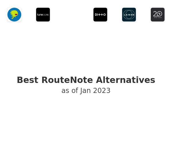 Best RouteNote Alternatives