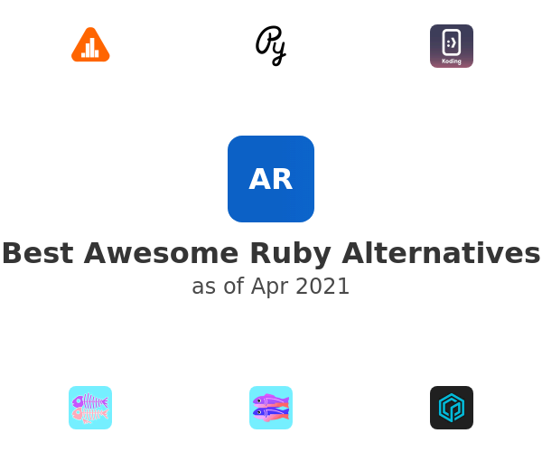 Best Awesome Ruby Alternatives