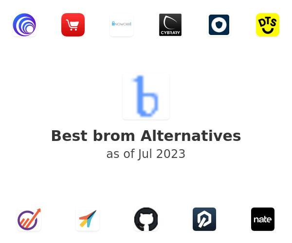 Best brom Alternatives