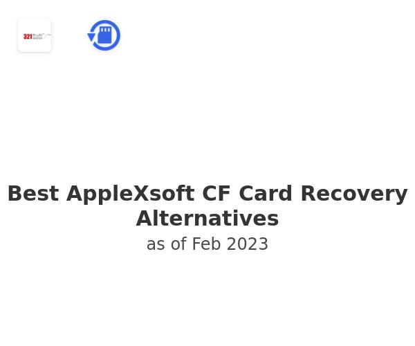 Best AppleXsoft CF Card Recovery Alternatives