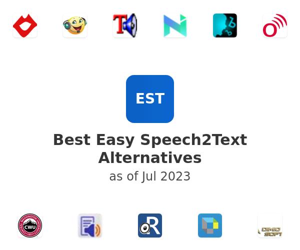 Best Easy Speech2Text Alternatives