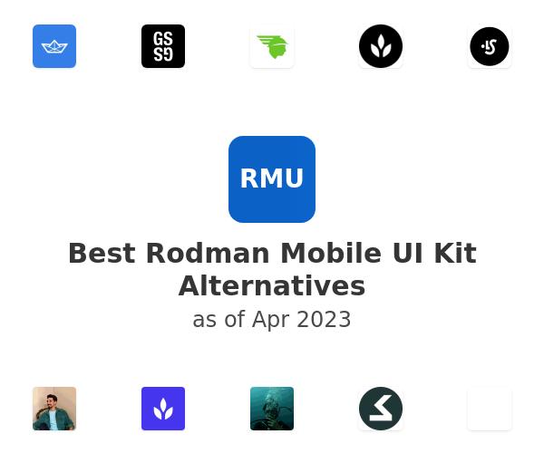Best Rodman Mobile UI Kit Alternatives