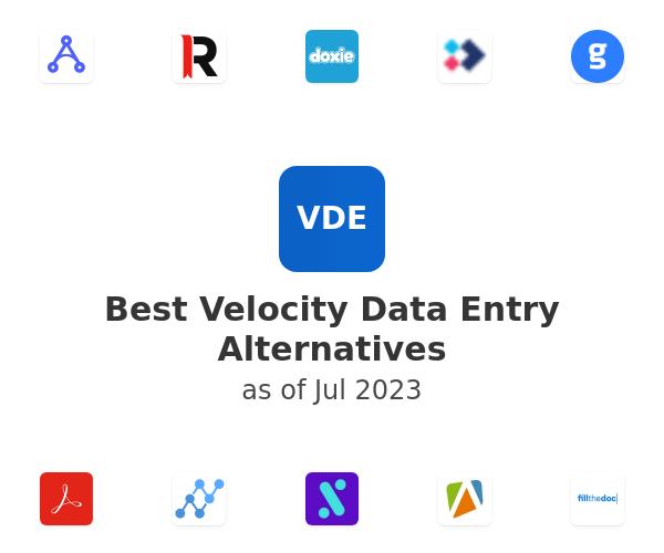 Best Velocity Data Entry Alternatives