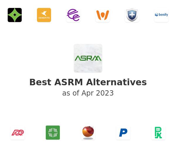 Best ASRM Alternatives