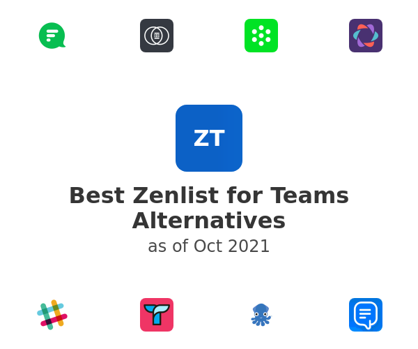 Best Zenlist for Teams Alternatives