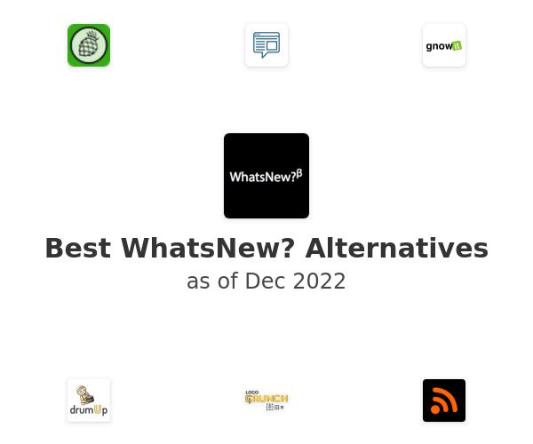 Best WhatsNew? Alternatives