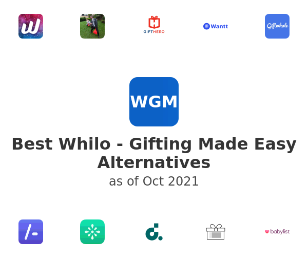 Best Whilo - Gifting Made Easy Alternatives