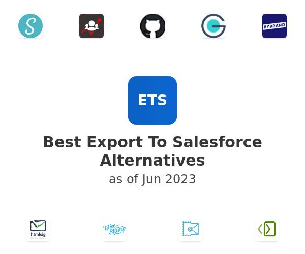 Best Export To Salesforce Alternatives
