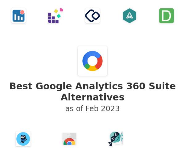 Best Google Analytics 360 Suite Alternatives