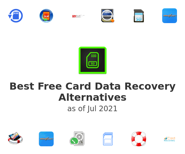 Best Free Card Data Recovery Alternatives