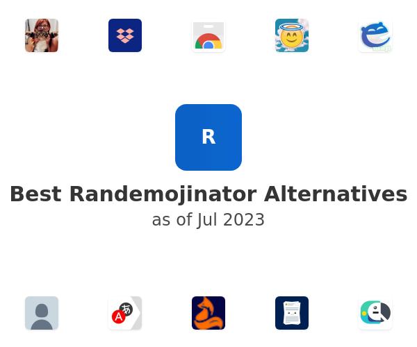 Best Randemojinator Alternatives