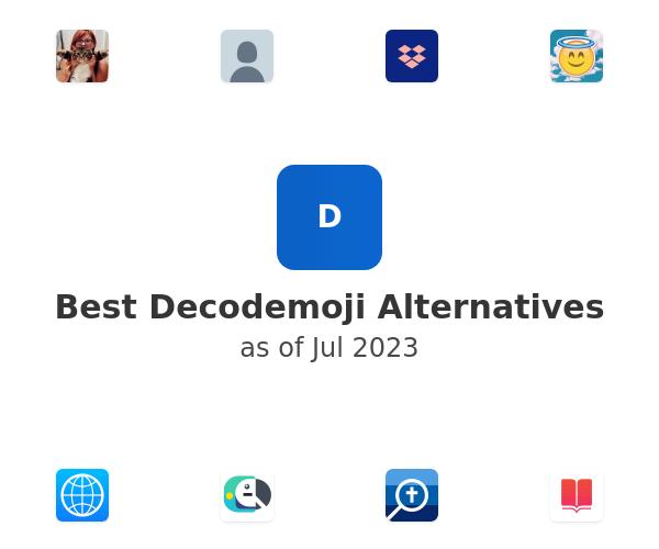Best Decodemoji Alternatives