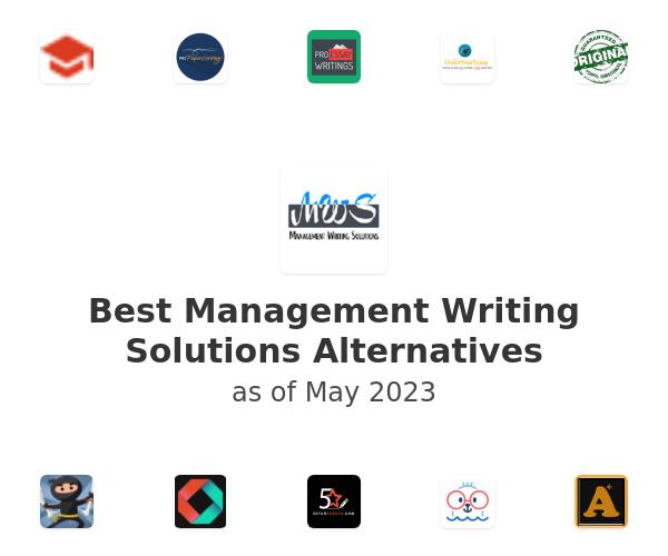 Best Management Writing Solutions Alternatives
