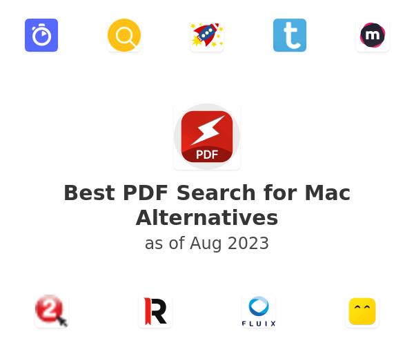 Best PDF Search for Mac Alternatives