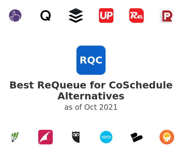 Best ReQueue for CoSchedule Alternatives