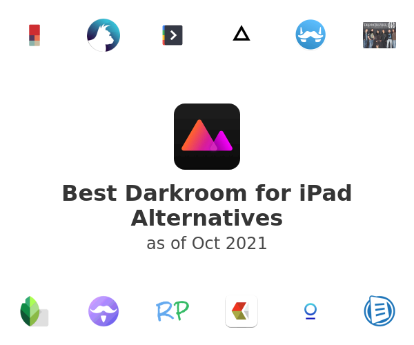 Best Darkroom for iPad Alternatives