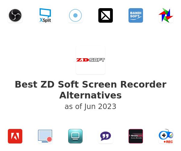 Best ZD Soft Screen Recorder Alternatives