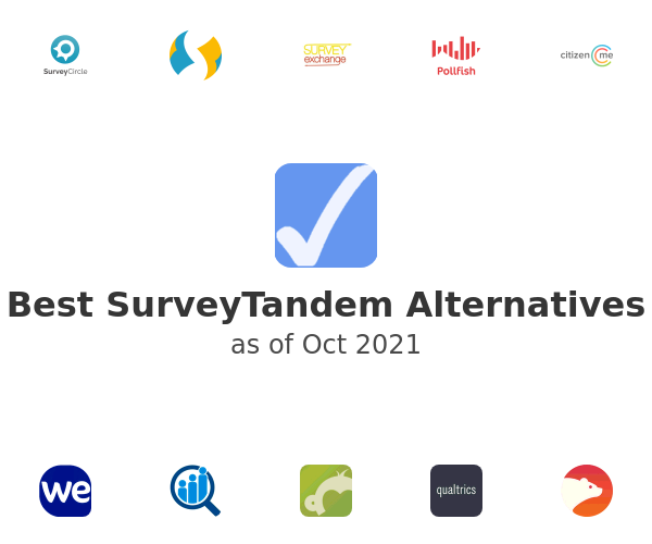 Best SurveyTandem Alternatives