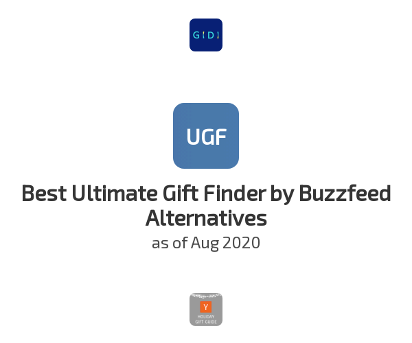 Best Ultimate Gift Finder by Buzzfeed Alternatives