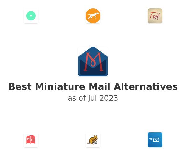 Best Miniature Mail Alternatives