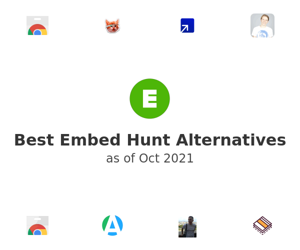 Best Embed Hunt Alternatives