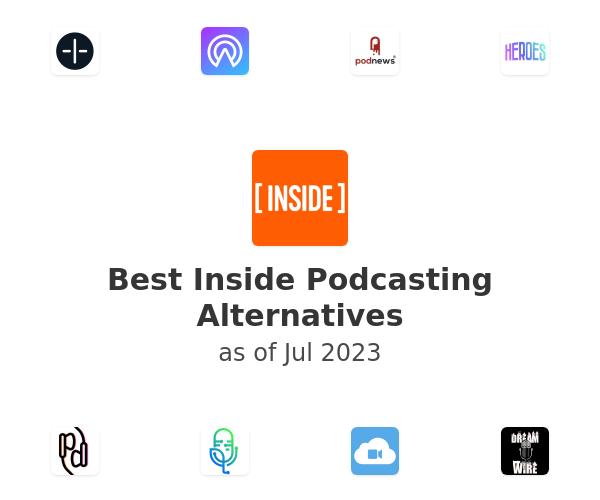 Best Inside Podcasting Alternatives