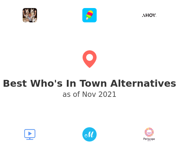 Best Who's In Town Alternatives
