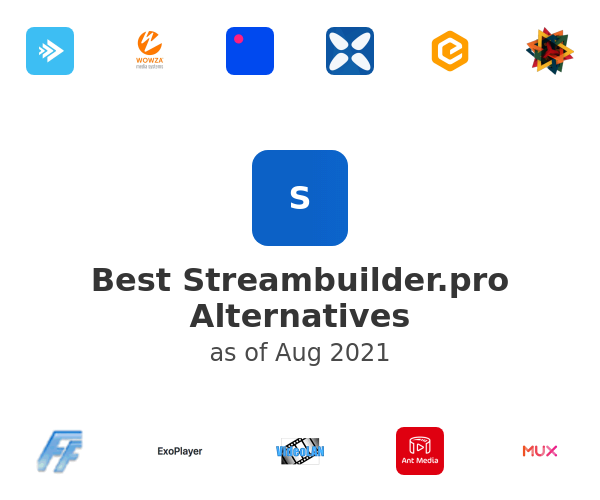 Best Streambuilder.pro Alternatives