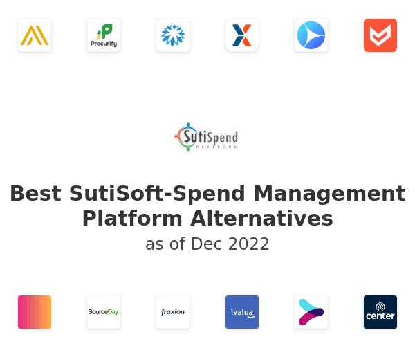 Best SutiSoft-Spend Management Platform Alternatives
