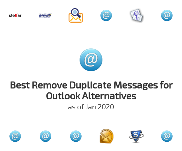 Best Remove Duplicate Messages for Outlook Alternatives