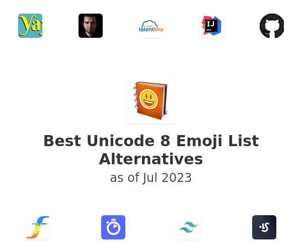 Best Unicode 8 Emoji List Alternatives