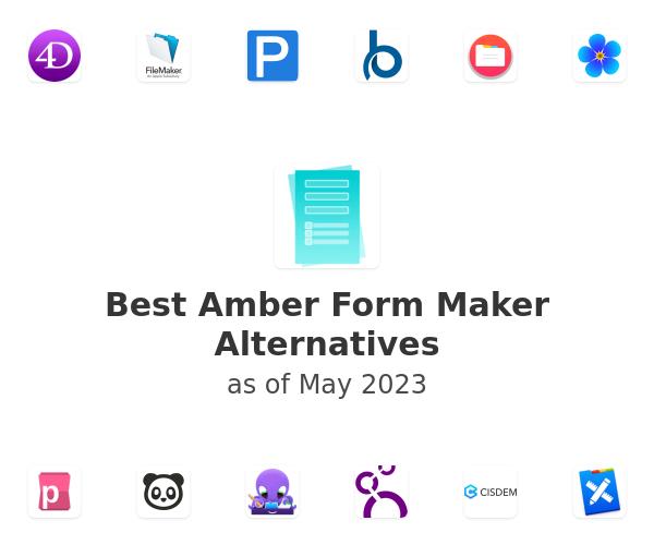 Best Amber Form Maker Alternatives