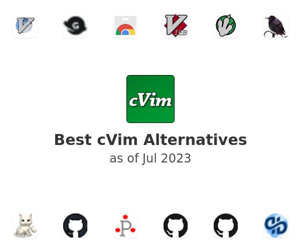 Best cVim Alternatives
