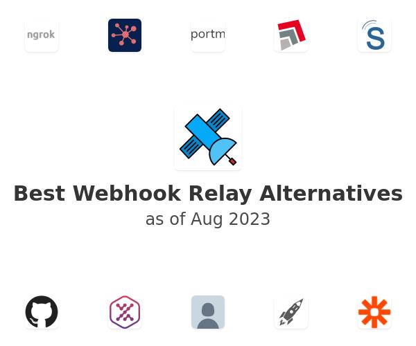 Best Webhook Relay Alternatives