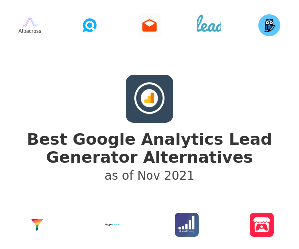 Best Google Analytics Lead Generator Alternatives