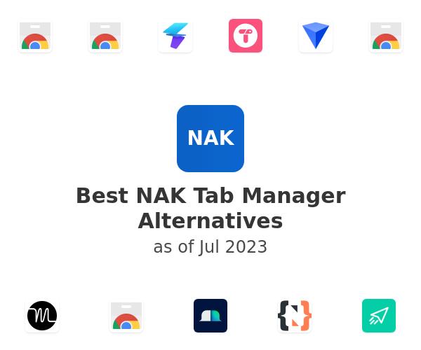 Best NAK Tab Manager Alternatives