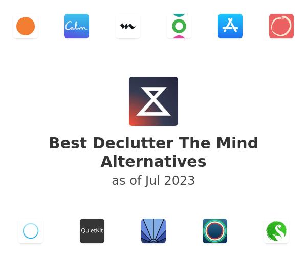 Best Declutter The Mind Alternatives