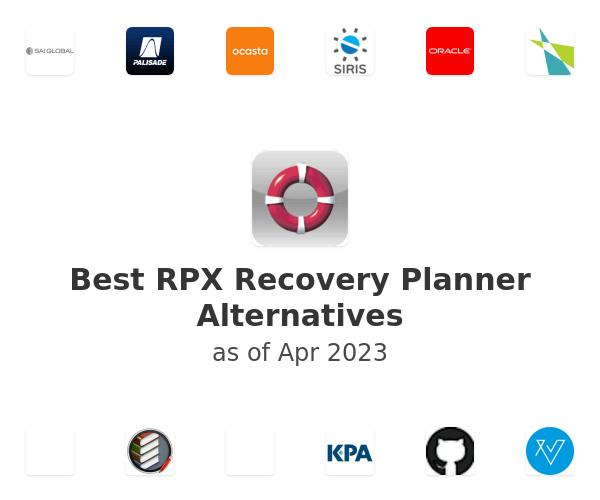 Best RPX Recovery Planner Alternatives