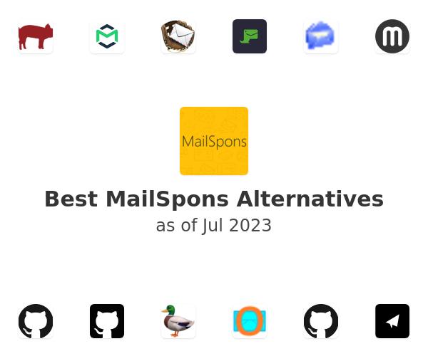 Best MailSpons Alternatives