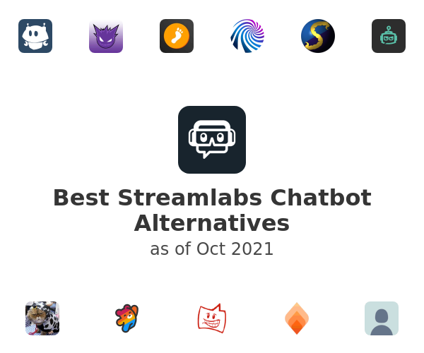 Best Streamlabs Chatbot Alternatives