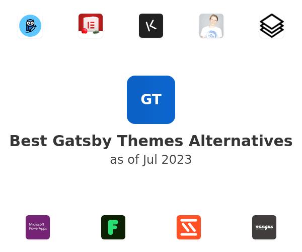 Best Gatsby Themes Alternatives