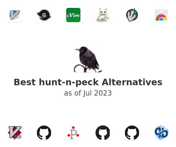Best hunt-n-peck Alternatives