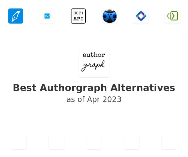 Best Authorgraph Alternatives