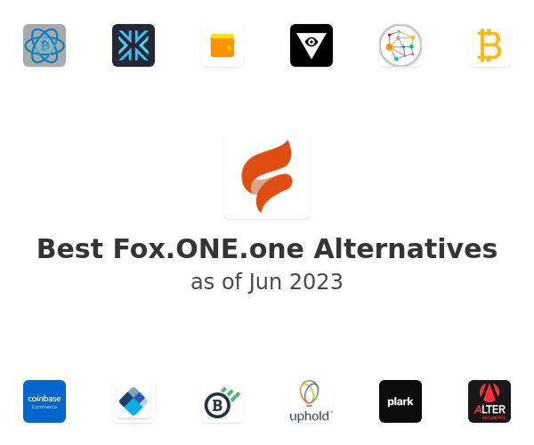 Best Fox.ONE Alternatives